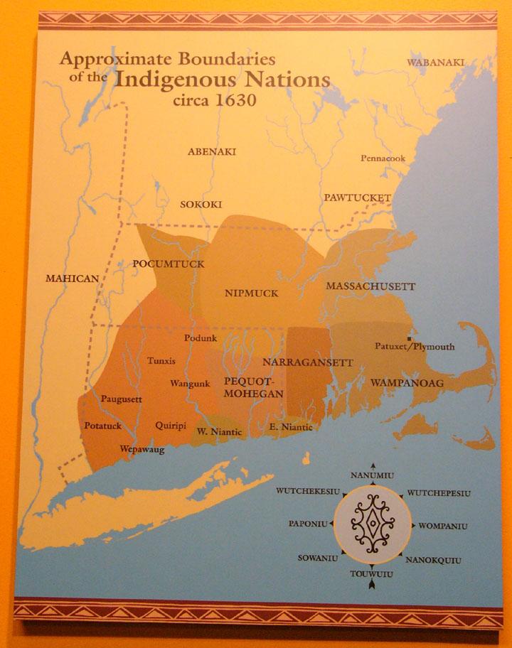 Wampanoag Native Americans Plymouth Massachusetts