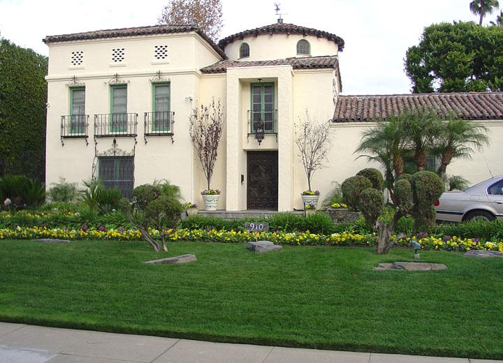 Movie Star Homes Hollywood California Travel Photos By