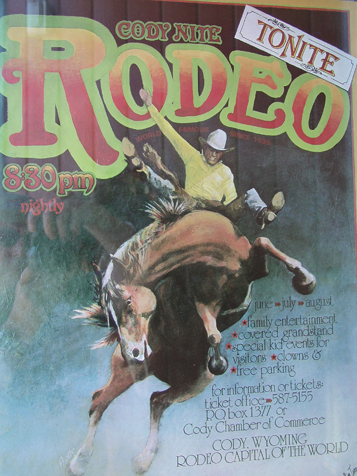 A Rodeo In Cody Wyoming Travel Photos By Galen R