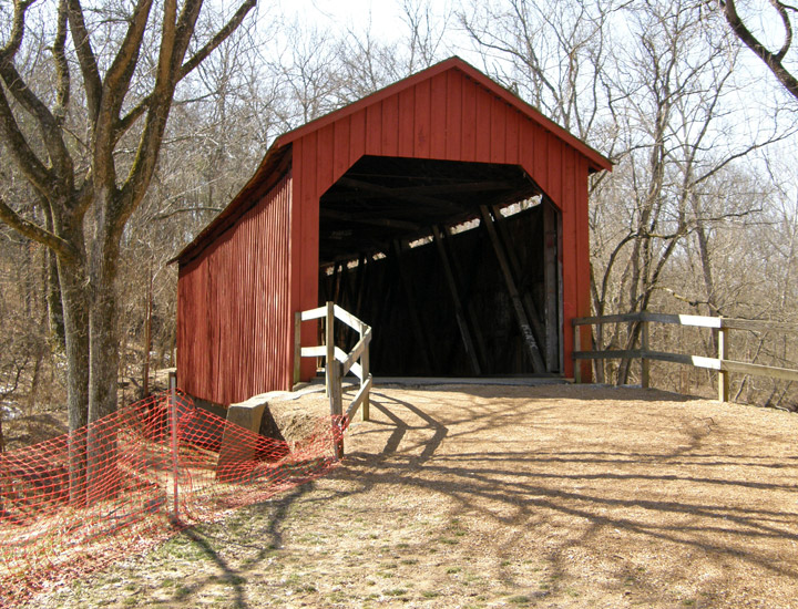 Sandy Creek Covered Bridge Jefferson County Missouri