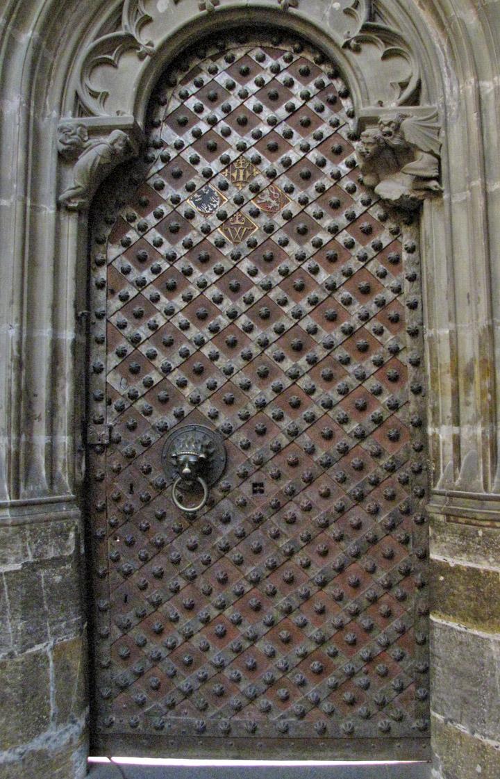 Interior of St Vitus's...