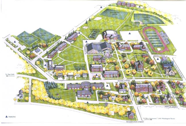 Juniata Campus Map.Juniata College Huntingdon Pennsylvania Photos By Galen R