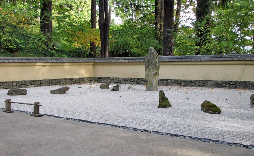 Japanese Garden Portland Oregon Travel Photos