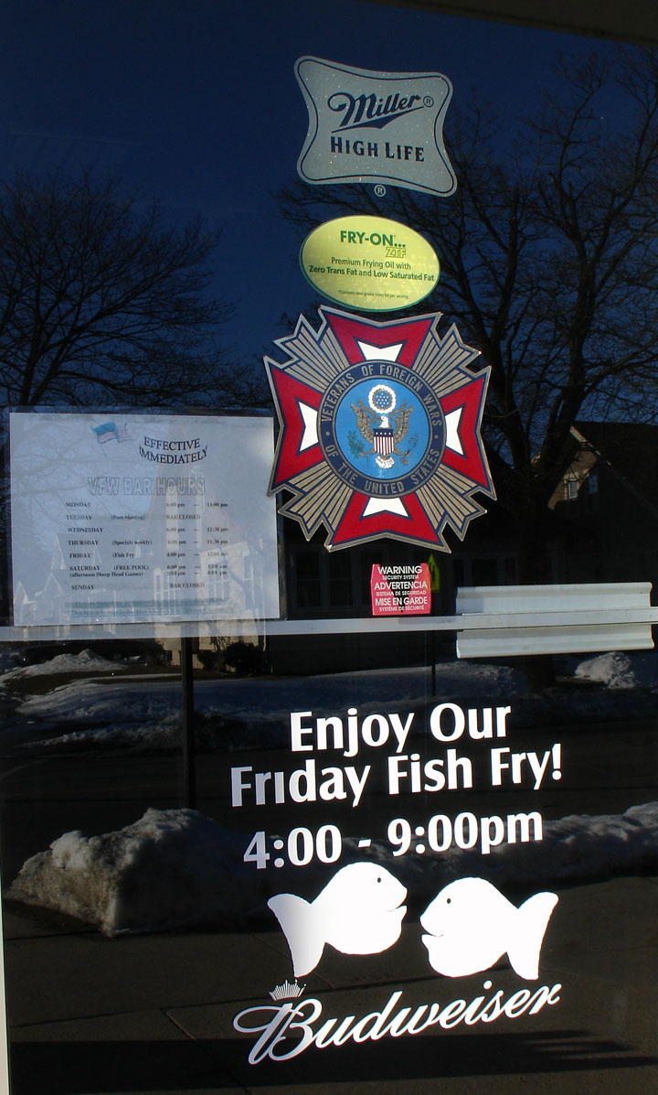 friday fish fry at vfw wolf olson post 1230 sheboygan