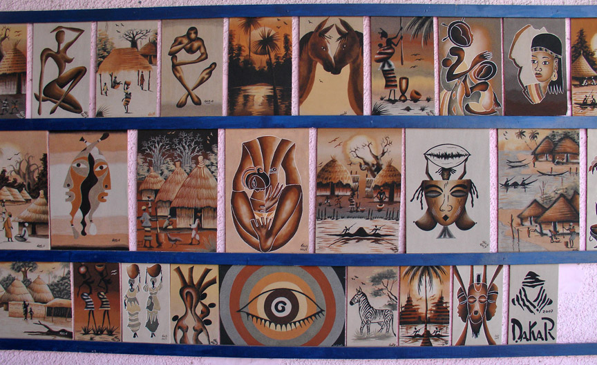 Dakar senegal travel photos by galen r frysinger sheboygan sand paintings for sale sciox Image collections