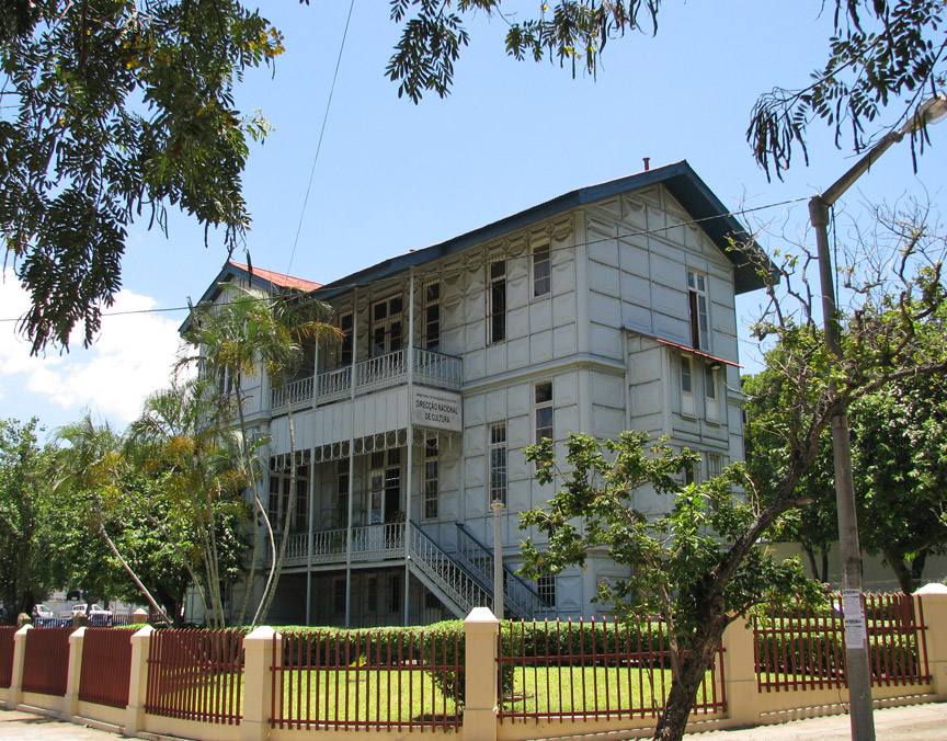 Steel House By Gustave Eiffel Maputo Mozambique Travel Photos By Galen R Frysinger