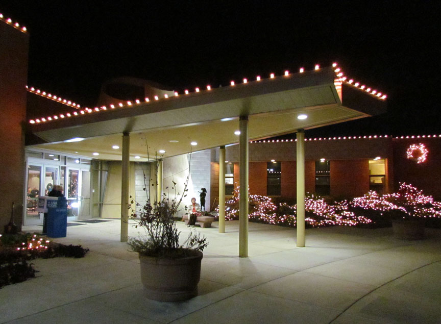 Our Lady Of The Snows Christmas Lights