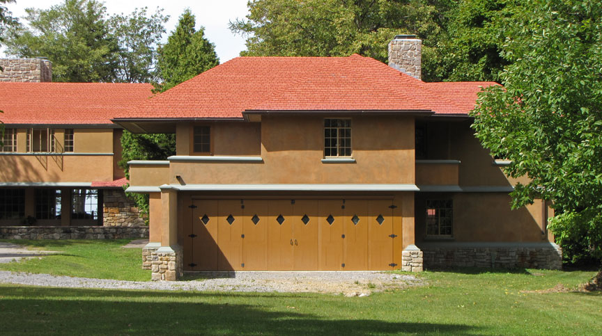 Graycliff A Frank Lloyd Wright Designed House Derby New