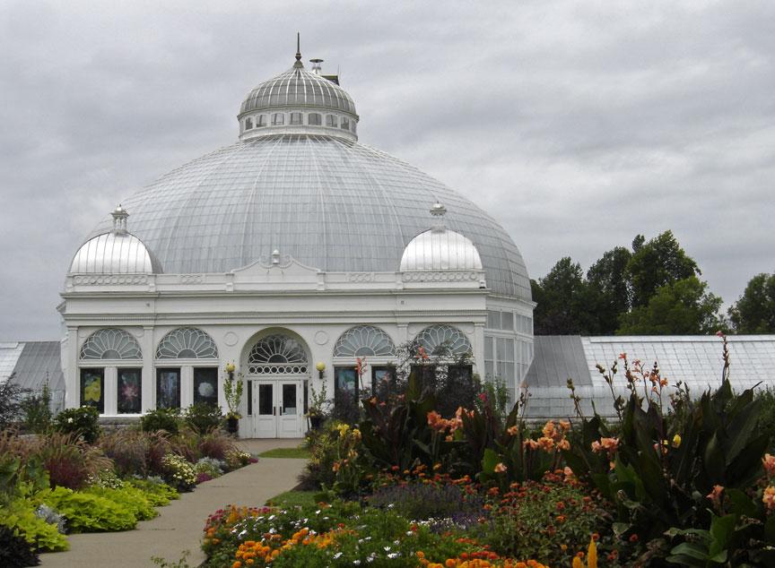 Botanical Gardens Buffalo New York Travel Photos By Galen R Frysinger Sheboygan Wisconsin