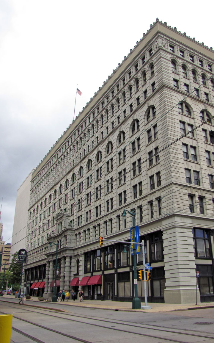 Ellicott Building, Buffalo, New York - Travel Photos by