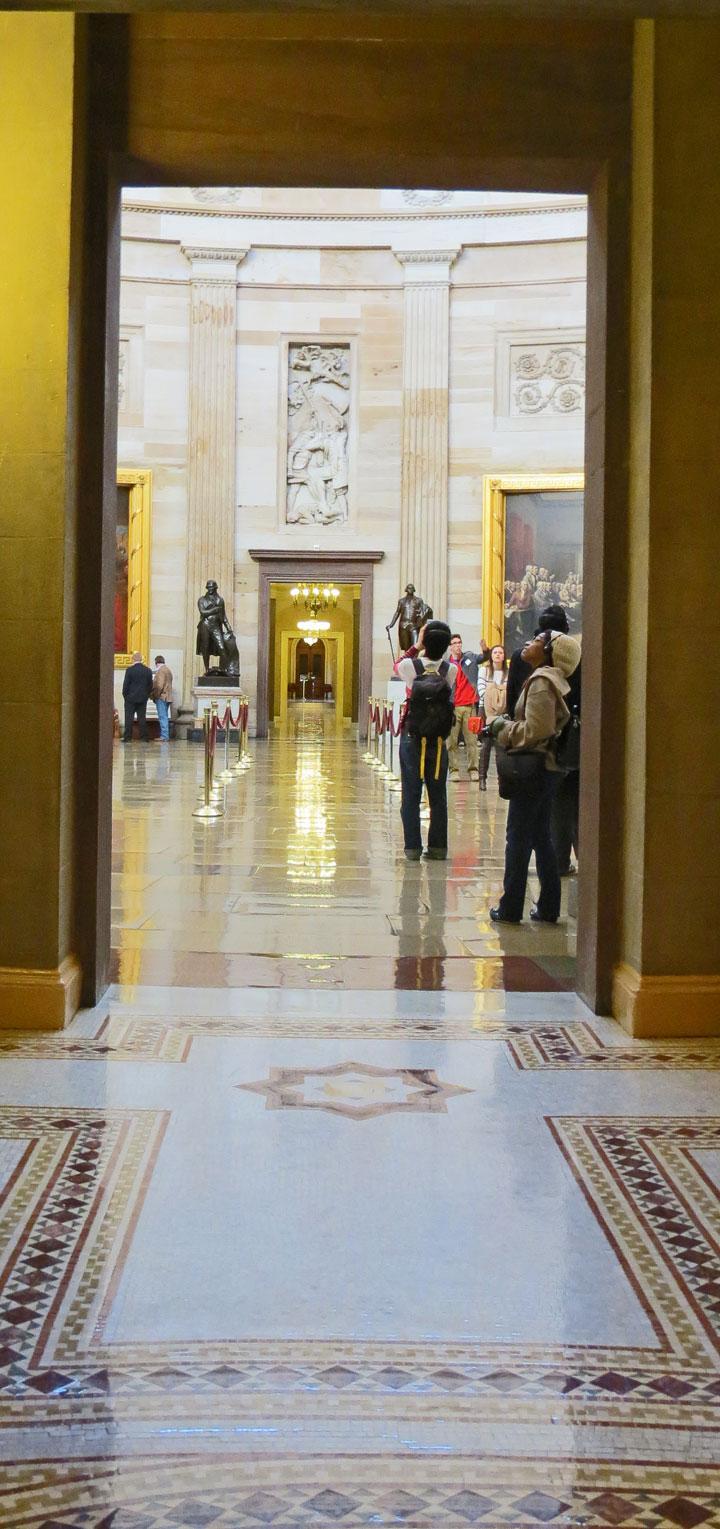 Statuary Hall, United States Caoitol, Washington, D. C ...
