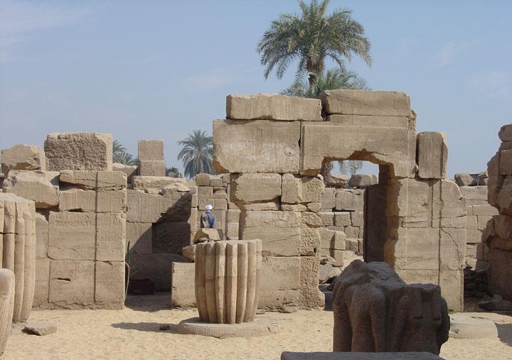 tempel luxor karnak