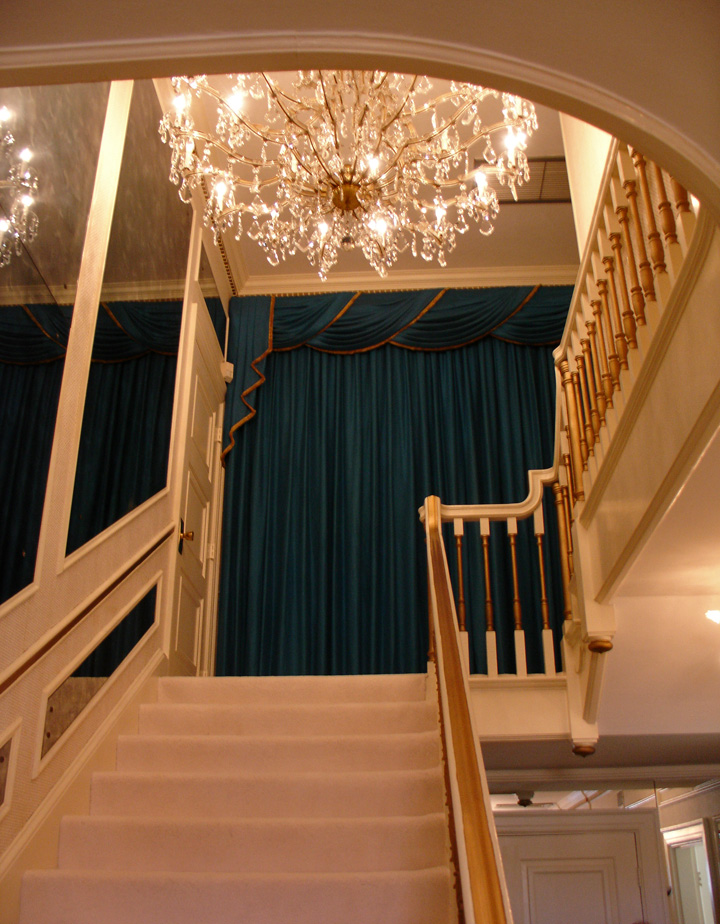 Interior of the Graceland Mansion of Elvis Presley, Memphis, Tennessee ...