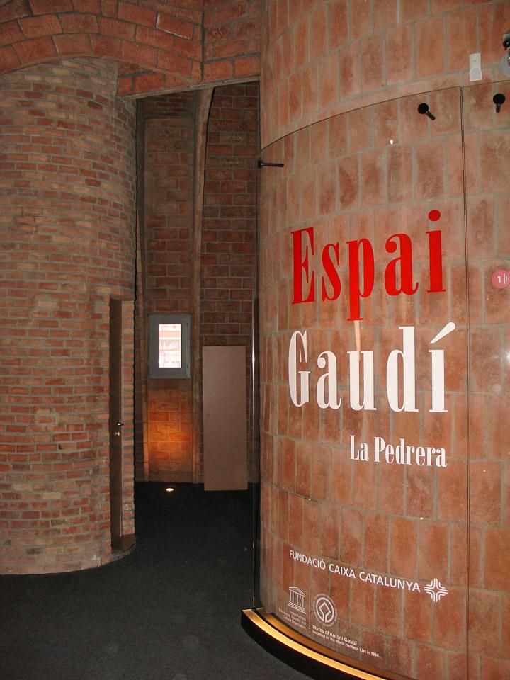 Gaudi museum in the casa mila barcelona spain travel for Casa floor