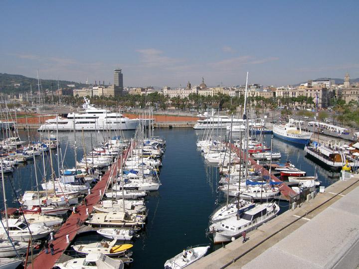 Barcelona Harbor, Spain - Travel Photos by Galen R Frysinger, Sheboygan, Wisconsin
