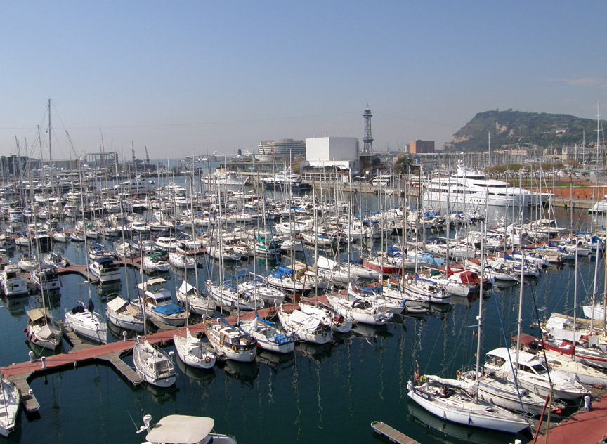 Barcelona Harbor, Spain - Travel Photos by Galen R Frysinger ...