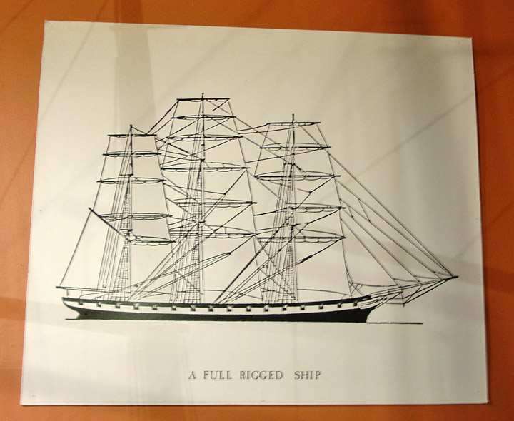 exhibit on ship building