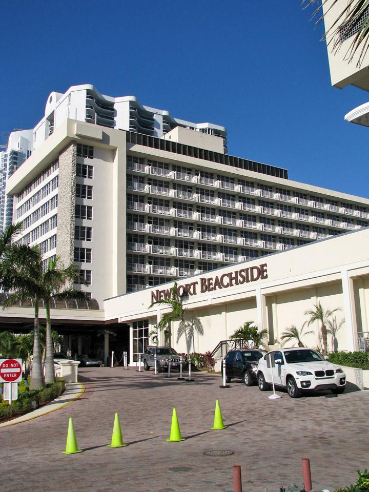 Newport Beachside Hotel And Resort, Sunny Isles, Florida