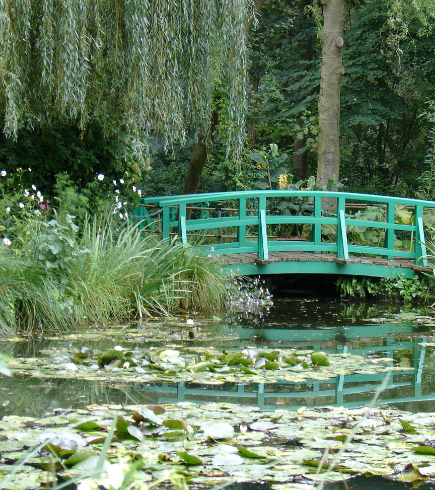 Water Lilies In The Garden Of Claude Monet, Giverny, France   Travel Photos  By Galen R Frysinger, Sheboygan, Wisconsin