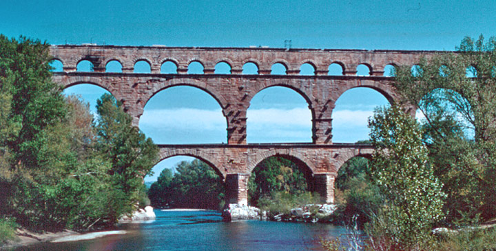Roman Aqueducts Diagram