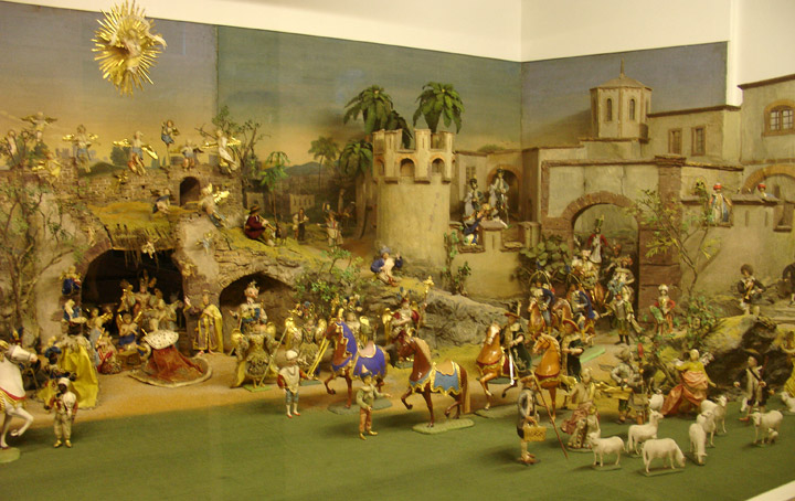 Christmas Cribs (Nativity Scenes) from Tyrol, Museum in Innsbruck ...