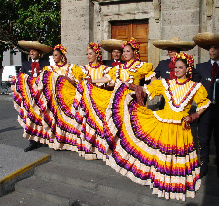 Folkloric Ballet  Guadalajara  Mexico - Travel Photos by Galen R