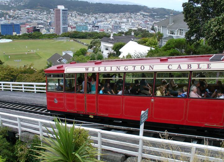 The Wellington Cable Car Wellington New Zealand Travel Photos