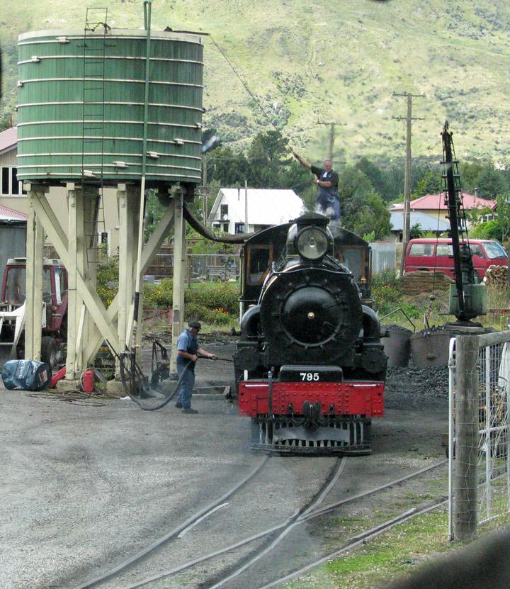 The Kingston Flyer, A Vintage Steam Train, South Island