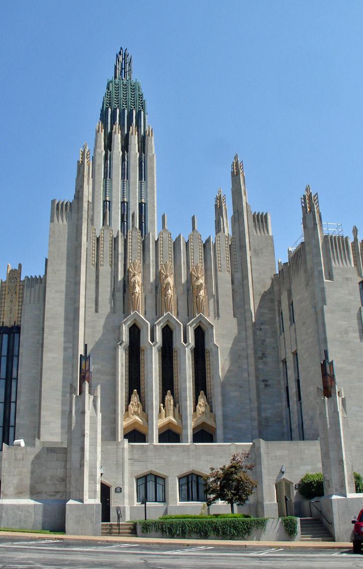 Boston Avenue Church, Art Deco, Tulsa, Oklahoma - Travel ...