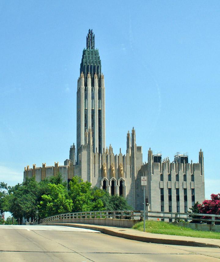 Boston Avenue Church Art Deco Tulsa Oklahoma Travel