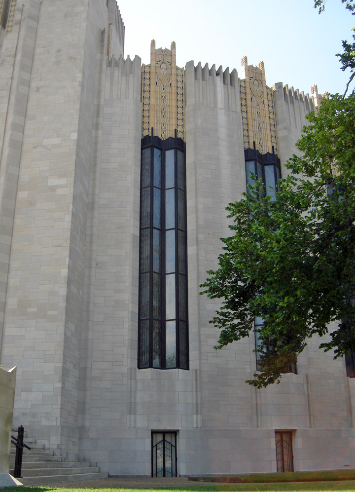 Exterior: Boston Avenue Church, Art Deco, Tulsa, Oklahoma