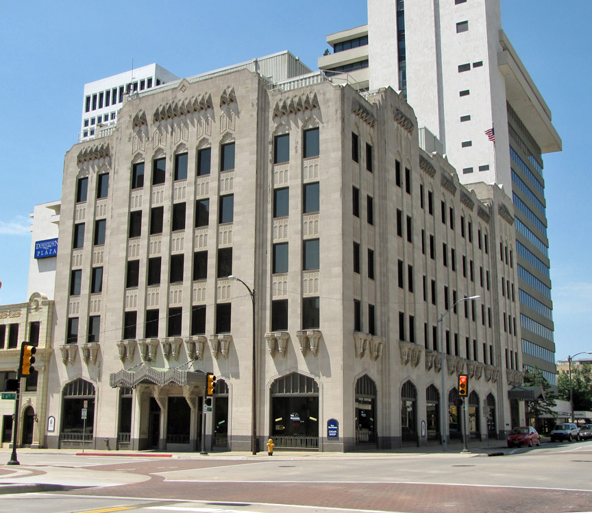 Art Deco Buildings Tulsa Oklahoma Travel Photos By