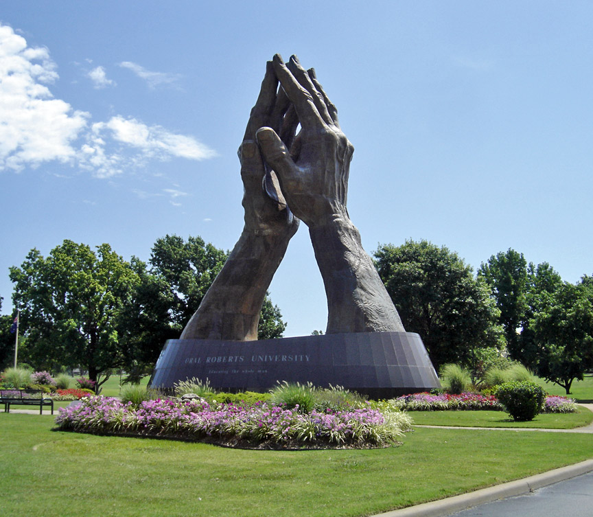Prayer Tower At Oral Roberts University Tulsa Oklahoma
