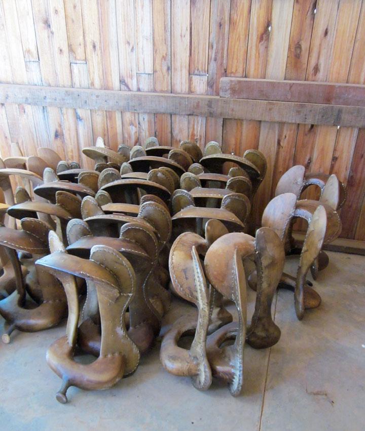 Saddle maker, Filadelphia, Chaco, Paraguay - Travel Photos