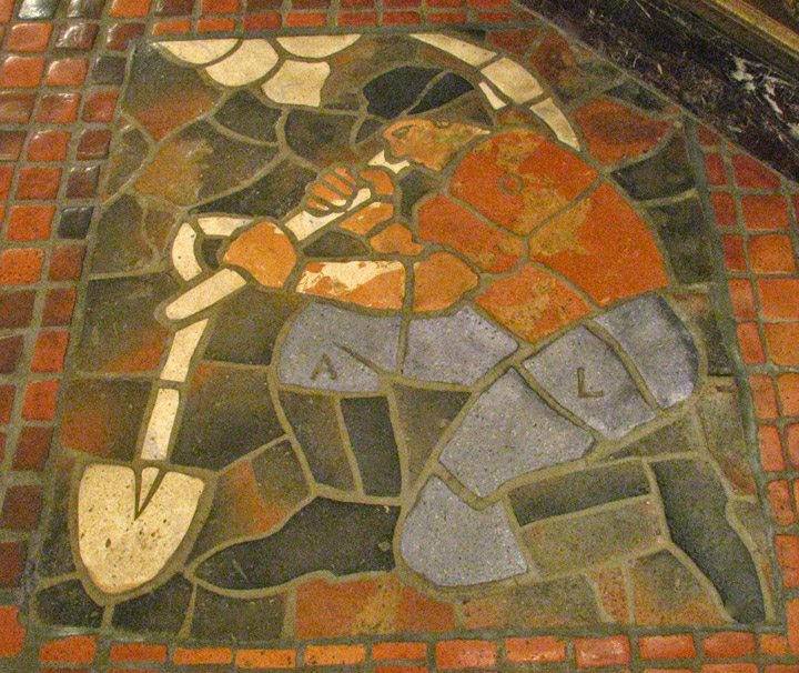 Mercer Tiles In The Rotunda Of The State Capitol