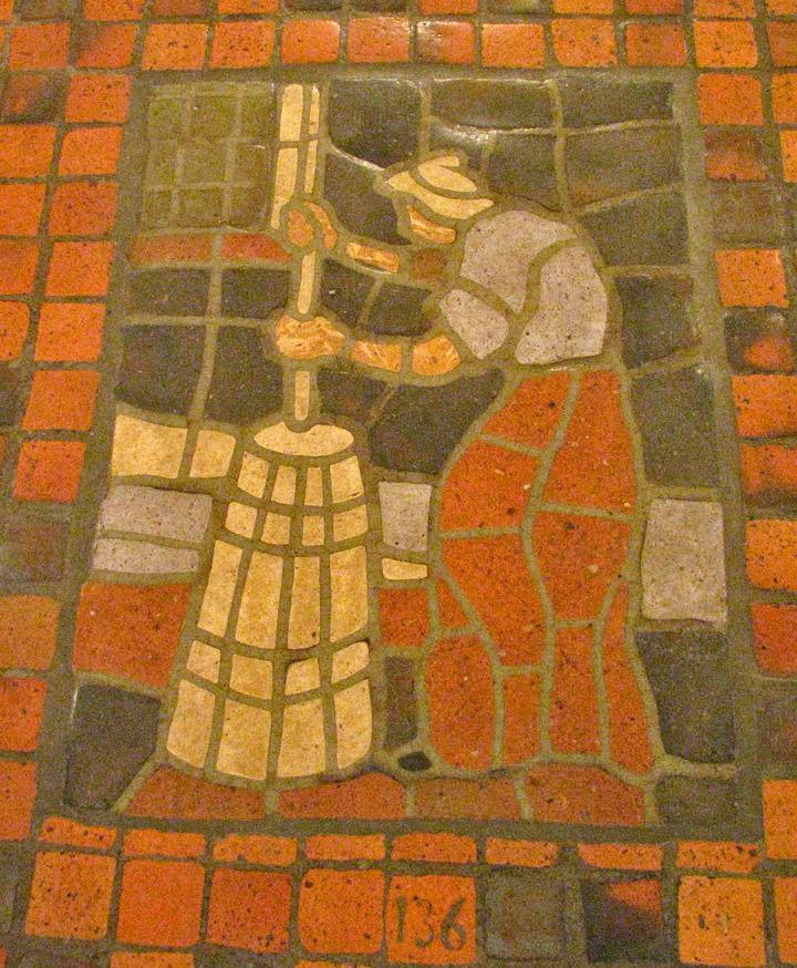 Mercer Tile Works : Mercer tiles in the rotunda of state capitol