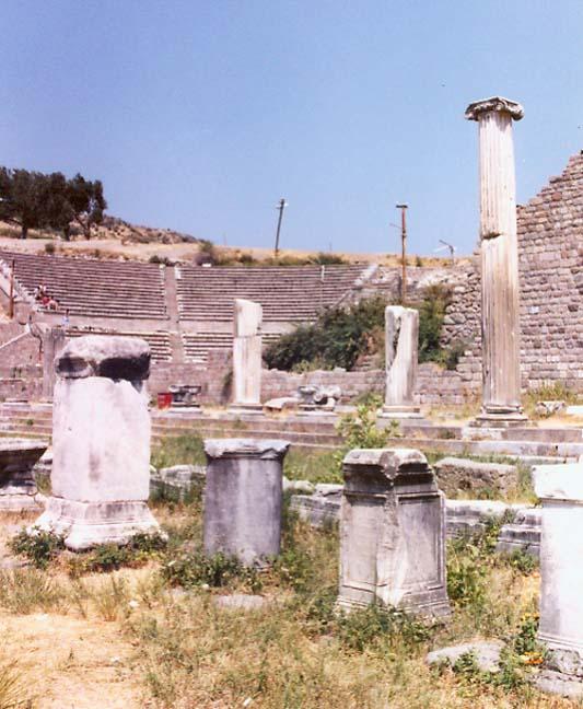 Pergamum and Troy, Turkey - Travel Photos by Galen R Frysinger, Sheboygan, Wi...