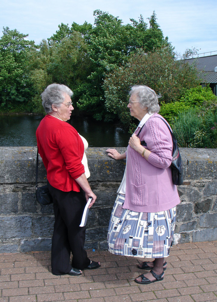 People of Haverfordwest, Wales - Travel Photos by Galen R Frysinger, Sheboygan, Wisconsin