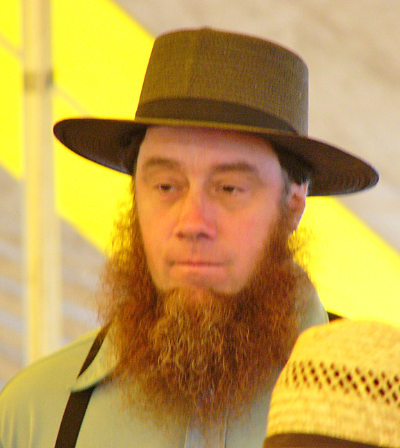 Young Amish Man with Beard
