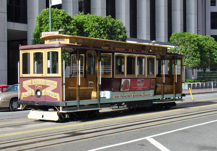 Cable Cars Of San Francisco California Travel Photos By