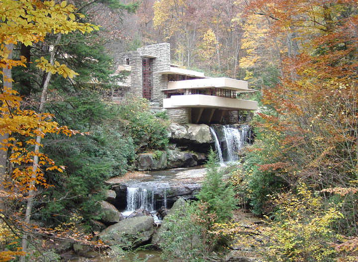 fallingwater a frank lloyd wright designed home in pennsylvania travel photos by galen r. Black Bedroom Furniture Sets. Home Design Ideas