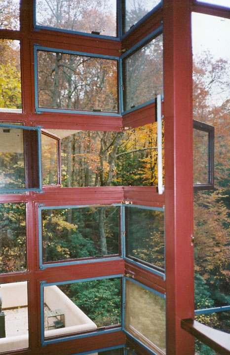 Interior Of Fallingwater A Frank Lloyd Wright Designed Home In Pennsylvania Travel Photos By