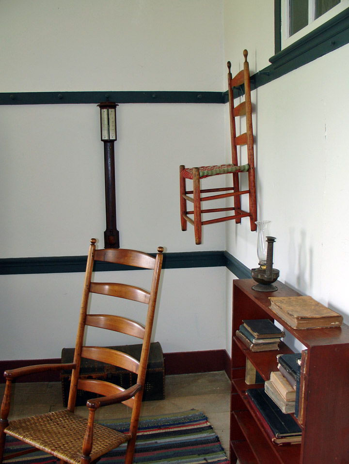 Centre Family Dwelling At The Shaker Village Pleasant