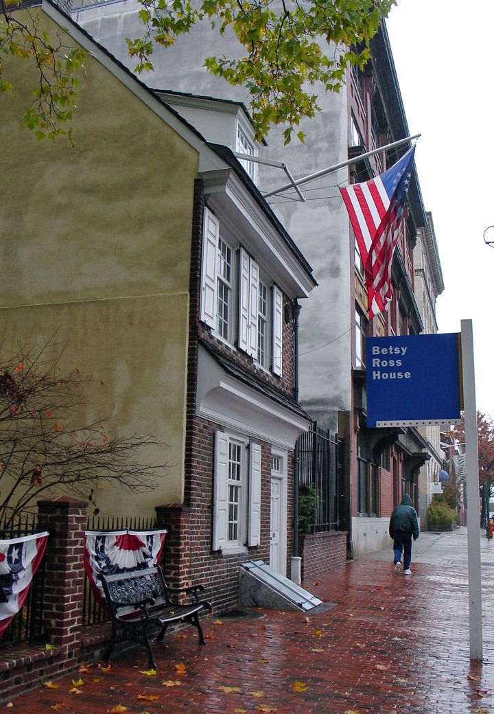 Betsy Ross House, Philadelphia, Pennsylvania - Travel ...