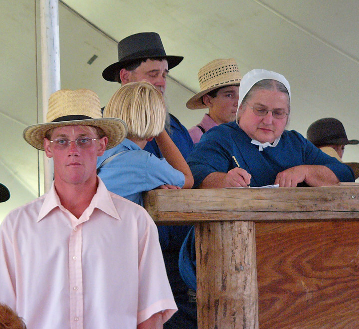 Amish Photos At The Quilt Action Bonduel Wisconsin Sept