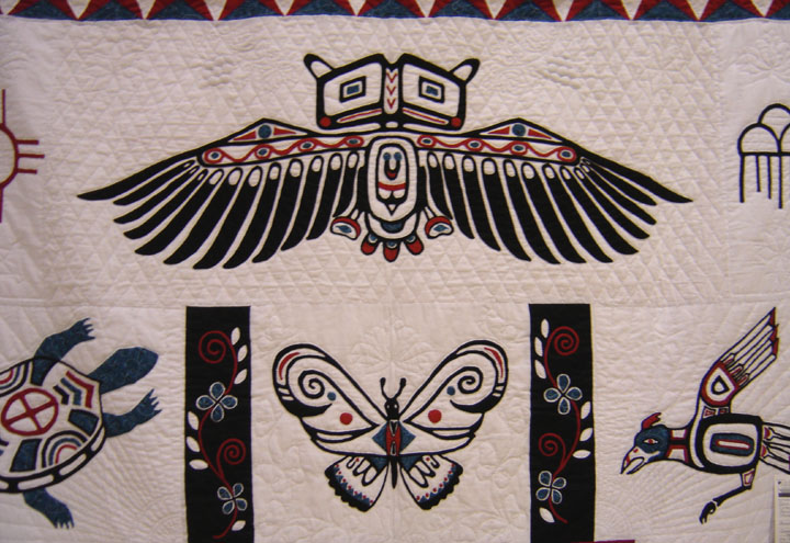 Native american quilt patterns design patterns for Native american furniture designs