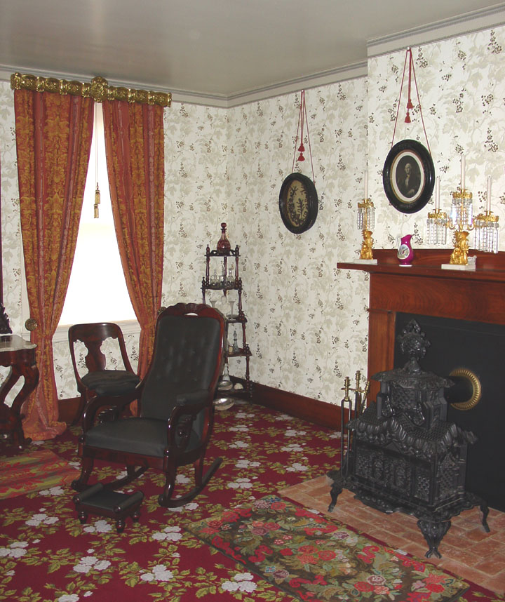 Interior Of Lincoln S Home In Springfield Illinois