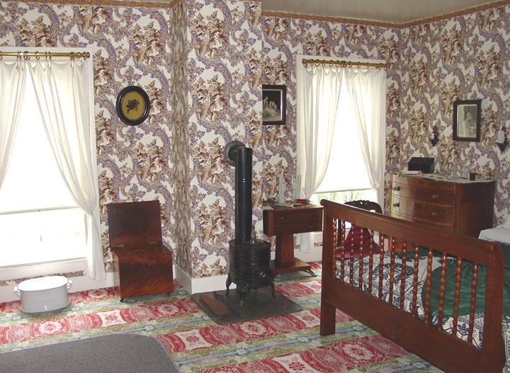 Interior Of Lincoln S Home In Springfield Illinois