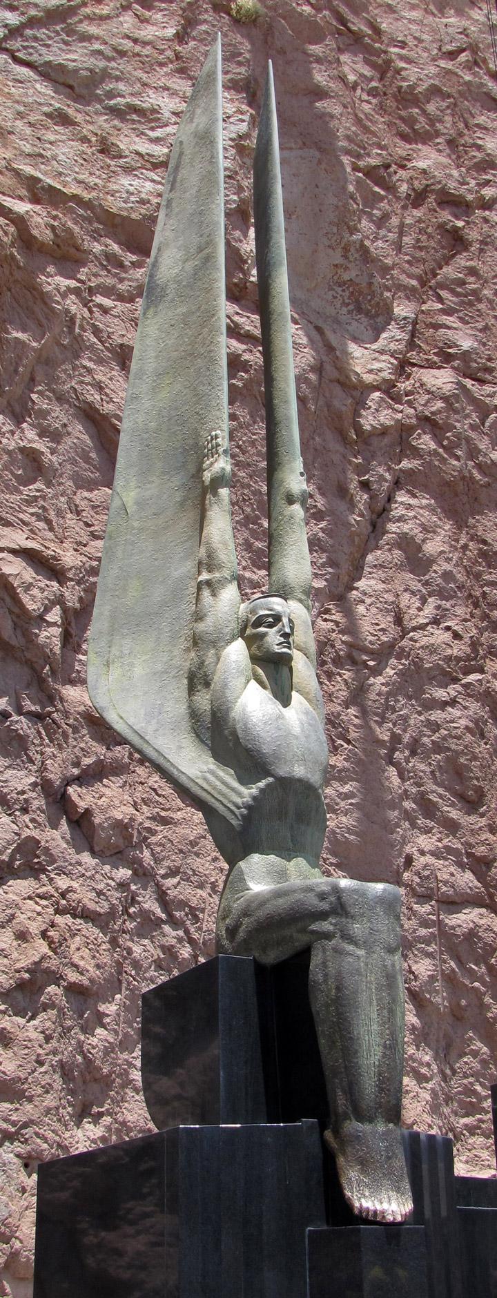 Power Plant At Hoover Dam Nevada Arizona Border Travel Photos Diagram Memorials