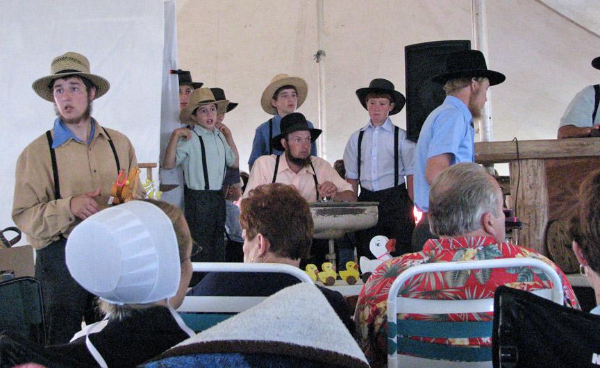 Amish Quilt Auction Bonduel Wisconsin Fall 2008 Travel